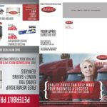 Peterbilt - Award Winning Direct Mailer (unfolded)