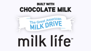 Milk - 7ft. Banner at Lifetime Fitness